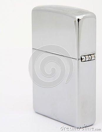 Free Silver Zippo Lighter Stock Photo - 1158600