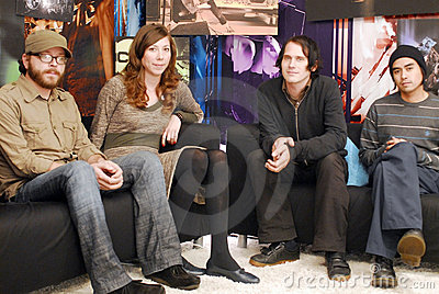Silversun Pickups appearing. Editorial Image