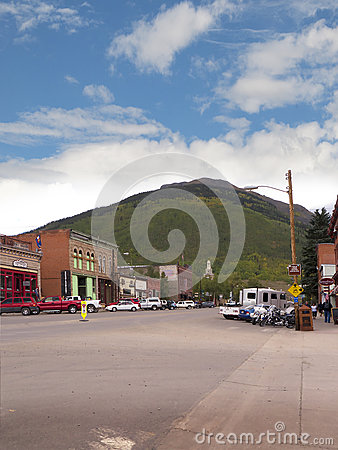 Free Silverton Is An Old Silver Mining Town In The State Of Colorado USA Stock Photography - 89760412