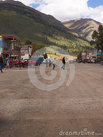 Free Silverton Is An Old Silver Mining Town In The State Of Colorado USA Royalty Free Stock Image - 89760466