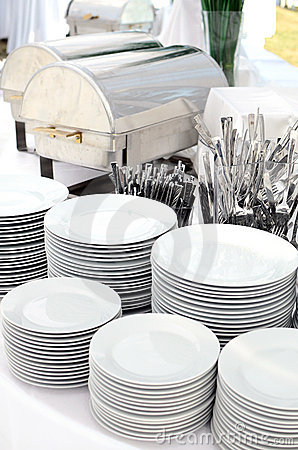 Free Silverware And Dishware Stock Photos - 20375533