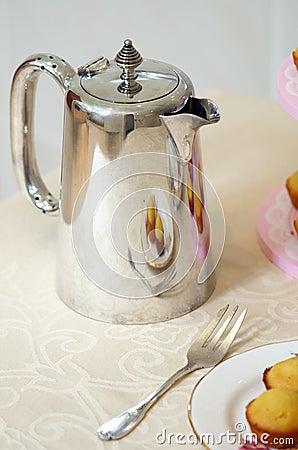 Silverware coffee pot