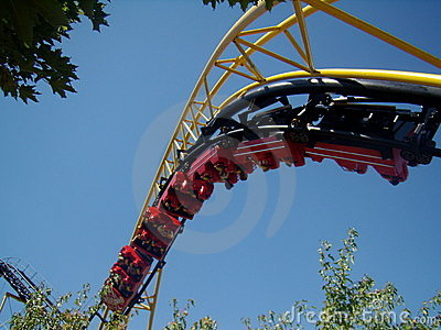 Silverwood Corkscrew Coaster