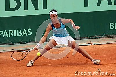 Silvia Soler-Espinosa (ESP) at Roland Garros 2011 Editorial Stock Image