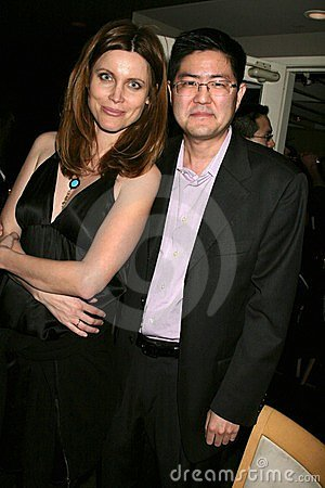 Silvia Suvadova and Greg Hatanaka at the Los Angeles Premiere Of  Bob Funk . Laemmle s Sunset 5 Theatres, Los Angeles, CA. 02-27-0 Editorial Stock Photo