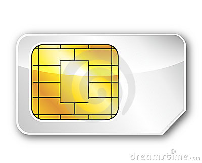 The sim card