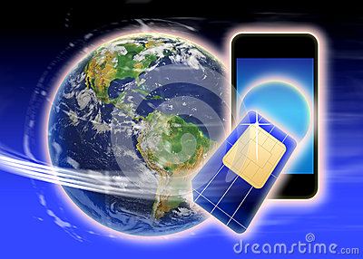 Sim card phone world