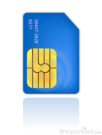 Sim identity card mobile phone