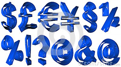 Simboli di alta risoluzione 3D