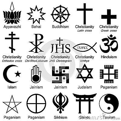 Simboli di religione del mondo