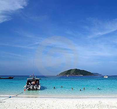 Similan Beach Island Number 4