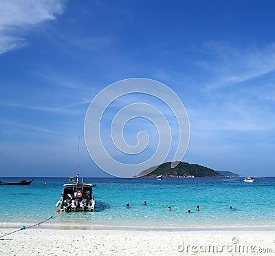 Similan Beach Island Number 4