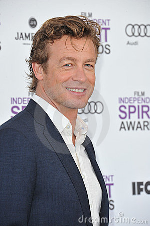 Simon Baker Editorial Stock Photo