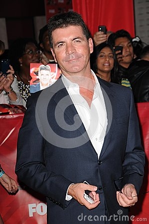 Simon Cowell Editorial Stock Photo