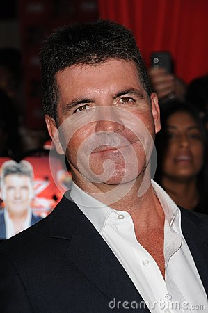 Simon Cowell Editorial Stock Image
