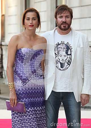 Simon and Yasmin Le Bon Editorial Image