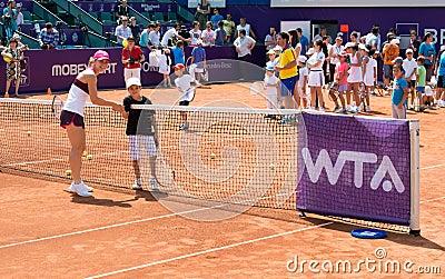 Simona Halep BRD OPEN WTA Editorial Stock Photo