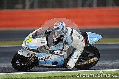 Simone corsi, moto 2, 2012 Editorial Stock Image