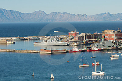 Simonstown Harbor South Africa