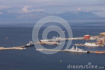 Simonstown Naval harbour