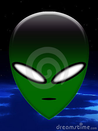 Simple Alien Head 5