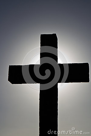 Simple backlit cross