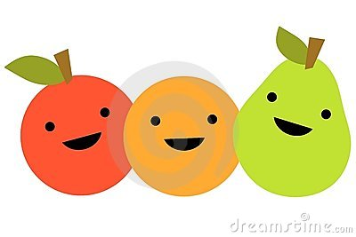 Simple Cartoon Fruit