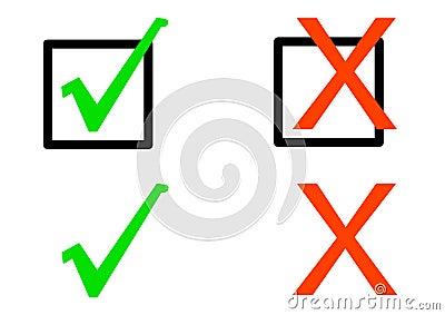 Simple Check Symbols