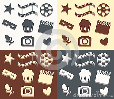 Simple cinema patterns