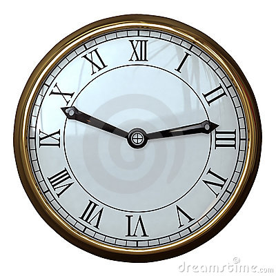 Simple Clock Roman Numeral