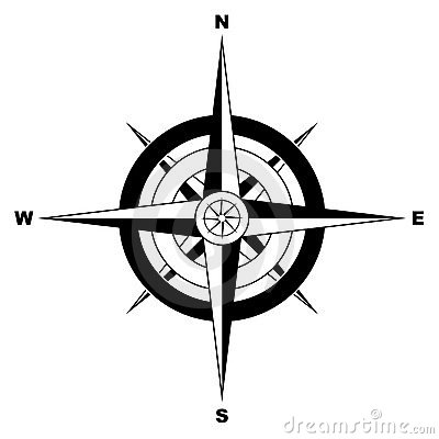 Free Simple Compass Royalty Free Stock Photo - 14519165