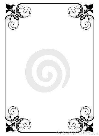 Simple decorative frame