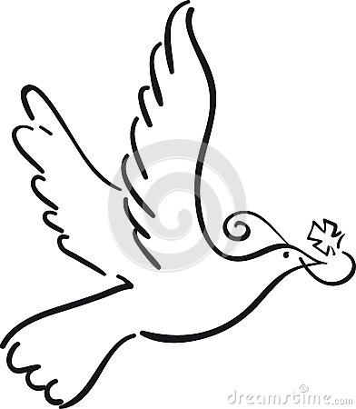 Simple Dove Royalty Free Stock Photography Image 34012397