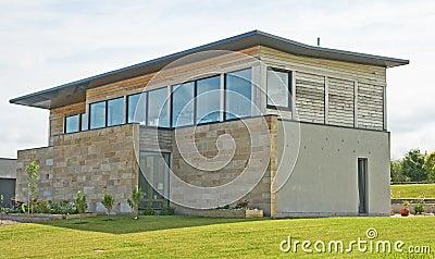 A simple, elegant design of house.
