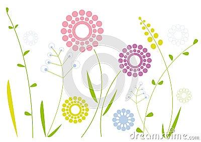 Simple floral design