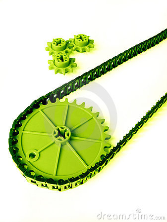 Simple gear system