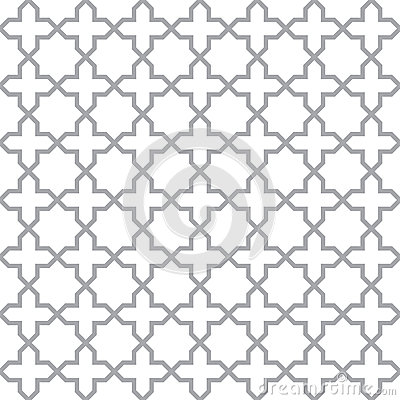 Simple geometric seamless vector texture