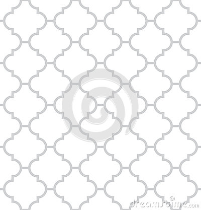 Free Simple Geometric Vector Seamless Texture Royalty Free Stock Image - 25282556