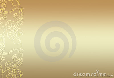 Simple gold background