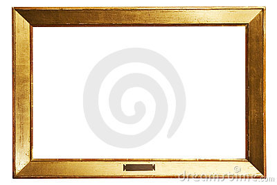 Simple Golden Frame w/ Path