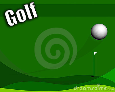 Simple golf layout useful in many ways