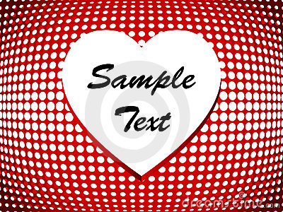 Simple halftone heart