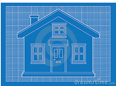 blueprint for houses simple house blueprints royalty free stock photo image 19708695 5855