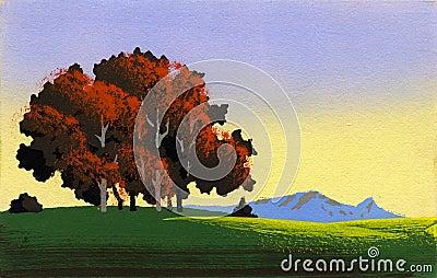 Simple landscape 1