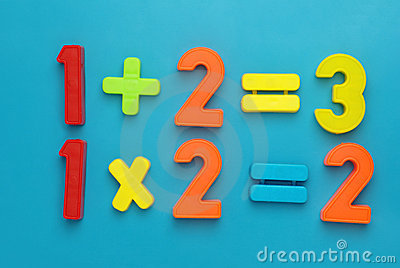 Simple math with magetic numbers.