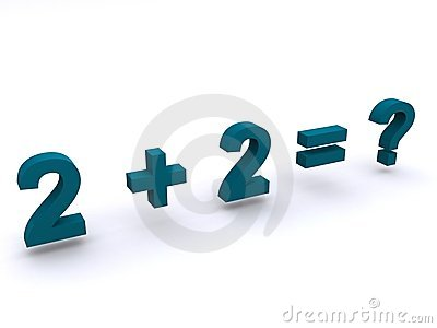 Simple maths addition sum