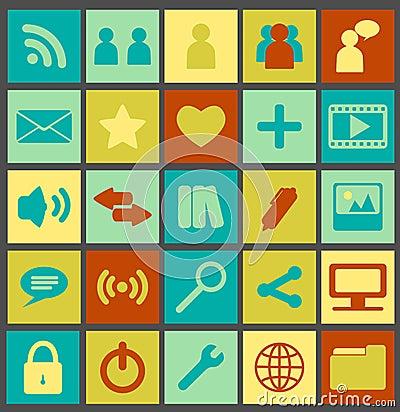Simple Media Icons
