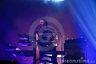 Simple Minds in Concert Editorial Photography