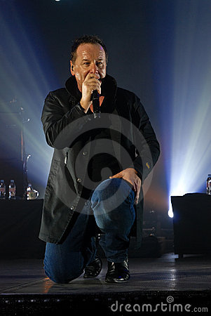 Simple Minds in Concert Editorial Image