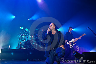 Simple Minds in Concert Editorial Photo